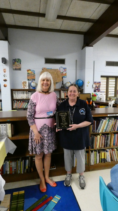 Mrs. Zelenack and Aimee Miller